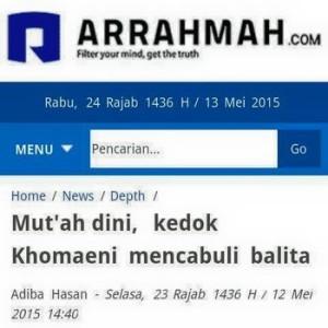 Arrahmah bohong