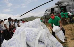 bantuan nepal