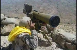 hizbullah di pegunungan lebanon