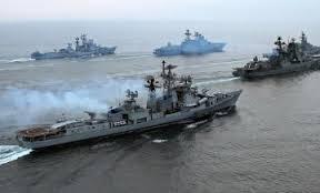 latihan perang laut tengah