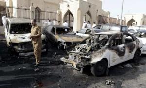 peledakan masjid di saudi