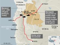 Pasukan Suriah Gempur Teroris di Jisr al-Shughur, 72 Orang Tewas