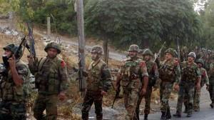 tentara suriah di Qalamoun