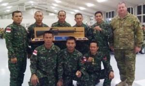 Tim penembak TNI AD di AASM 2015/tniadmil.ac.id