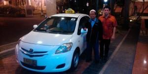 Suharto, Supir Taksi Express yang mengembalikan uang penumpang yang tertinggal/kompas.com