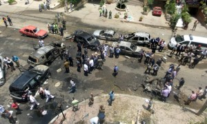 Car bombing in Cairo, Egypt - 29 Jun 2015
