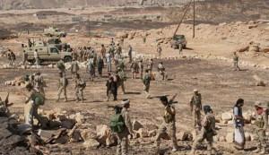 """معسكر القاعدة في """"نخلا"""" يسقط بيد الجيش واللجان الثورية"""