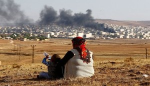 """مقتل 146 مدنيا بهجوم """"داعش"""" على عين العرب"""