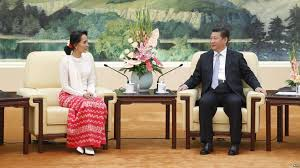 suu kyi dan presiden cina