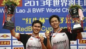 Pasangan Hendra/Ahsan, Juara Dunia 2013