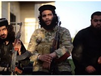 3 anggota ISIS dalam video ancaman kepada Gaza