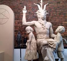 patung setan
