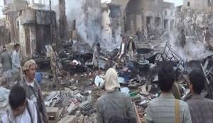 يوم دام باليمن..العدوان يحصد أرواح عشرات المدنيين