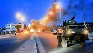 مقتل واصابة عشرات الجنود بهجمات ارهابية في سيناء
