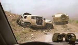 الجيش اليمني يغنم مدرعات إماراتية بلحج ويكبد المرتزقة خسائر كبيرة