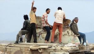 فرار مرتزقة السعودية بعد هزيمة منكرة في قاعدة العند+تفاصيل