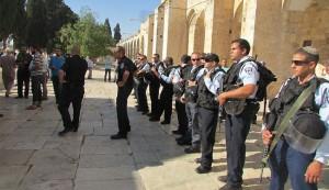 قوات الاحتلال تقتحم الاقصى المبارك برفقة مستوطنين
