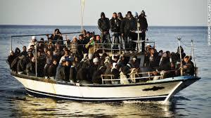 perahu imigran