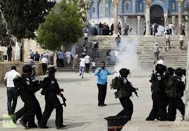 bentrok di al-aqsha palestina
