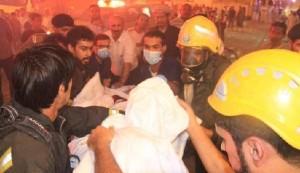 السعودية.. حريق فندق في مكة يؤدي لاخلاء أكثر من ألف حاج