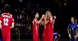 Tim Nasional Suriah. Foto: SANA