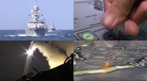 kapal rusia di laut kaspia