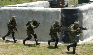pasukan kolombia