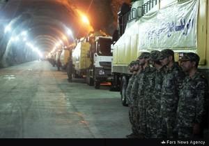 rudal bawah tanah iran