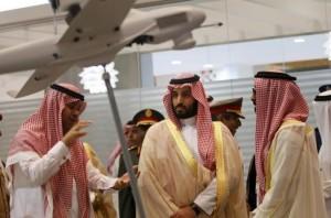 Saudi Defence Minister, Prince Mohammad bin Salman, visits IDEX in Abu Dhabi