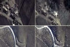 serangan udara rusia di suriah