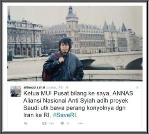 Ahmad Sahal-oke