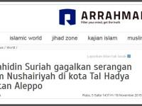 Kalah Perang, Arrahmah.com Menghibur Diri