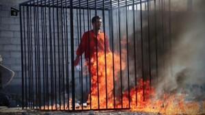 ISIS membakar pilor Yordania