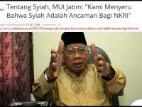 Lagi, Syiah Dituduh Mengancam NKRI