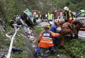 kecelakaan bus thailand
