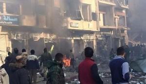 عشرات الضحايا بانفجار سيارتين مفخختين بحي الزهراء في حمص