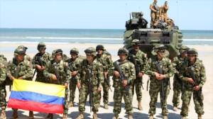pasukan kolumbia