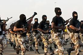 tentara bertopeng saudi