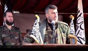 مقتل قائد جيش الإسلام زهران علوش بغارة جوية قرب دمشق