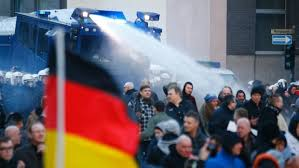 demo anti imigran jerman