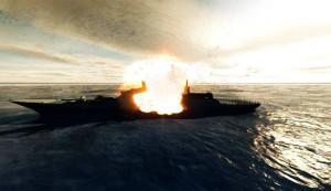 kapal saudi dibom di yaman