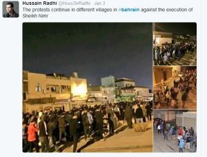 protes di bahrain