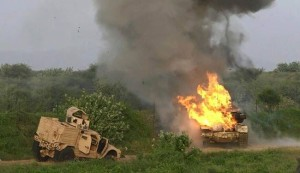 هزيمة نكراء لقوات العدوان بمعارك شمال غربي اليمن