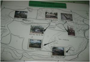peta lokasi cagar budaya Candi Cangkuang