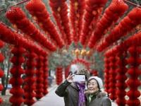 Festival Kuil Meriahkan Imlek di Cina
