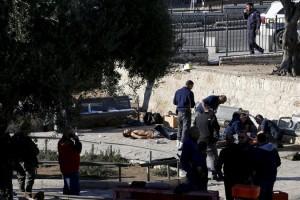pejuang palestina tertembak