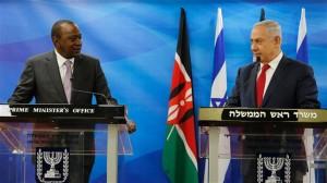 presiden kenya di israel