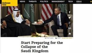 ديفينس 1: السعودية ليست دولة وانما منظمة اجرامية