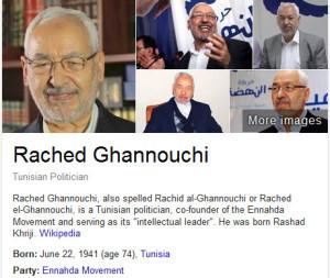 Rached Ghannouch tunisia