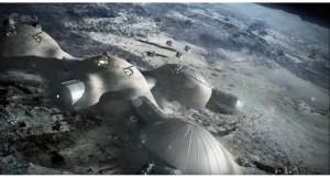 pemukimana di bulan